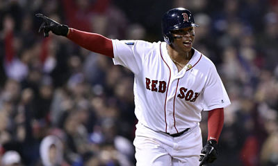 Devers conectó doble y remolcó dos para Boston