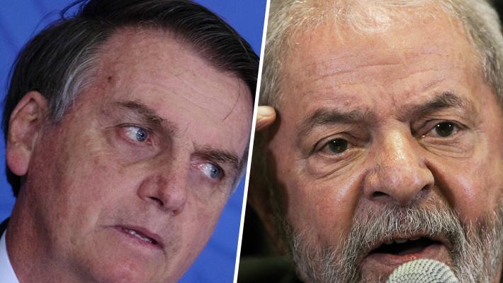 """Bolsonaro le responde a Lula: """"Por lo menos no gobierna Brasil una banda de borrachos"""""""