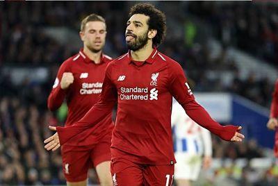 Salah y Mané permiten una goleada del Liverpool antes del Camp Nou