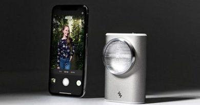 LIT, la lámpara Flash para sacar fotos por la noche con el móvil