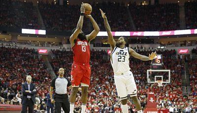 Los Rockets vencen al Jazz y avanzan a semifinales del Oeste