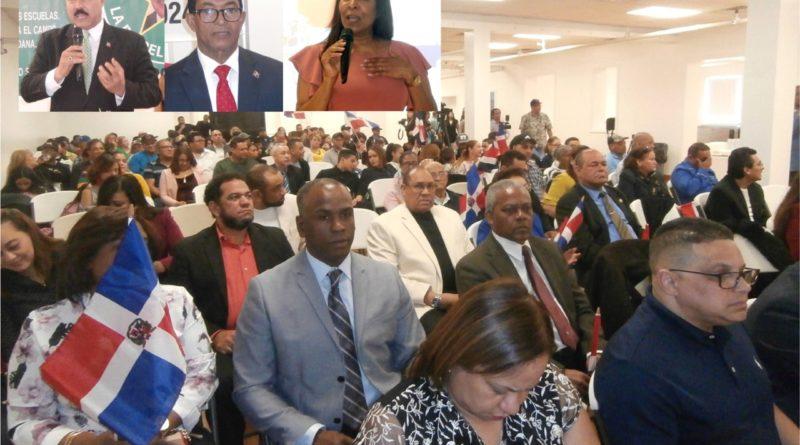 Cientos se congregan en Nueva Jersey en apoyo a reelección de Danilo y a obras del Gobierno