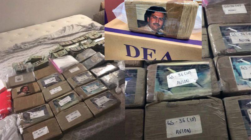 Confiscan en Harlem a narcos dominicanos heroína y fentanilo con foto de Pablo Escobar valorada en US$20 millones