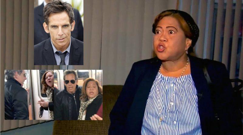 Dominicana que se encontró en tren con actor Ben Stiller rechaza críticas por uso de anchoa en la cabeza