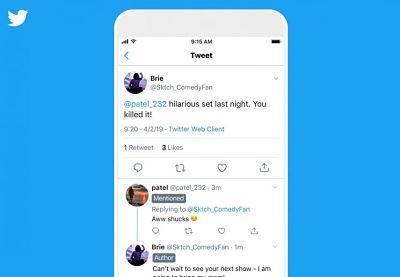 Twitter prueba a añadir nuevas etiquetas en los hilos