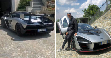 Cristiano Ronaldo presume de su último cochazo: ¡800 caballos y un millón de euros!