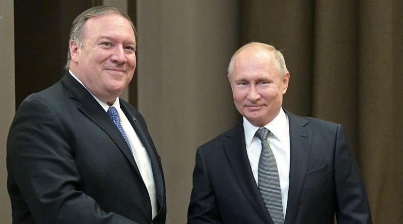 Putin a Pompeo: Rusia está dispuesta a restablecer plenamente las relaciones con EE.UU.