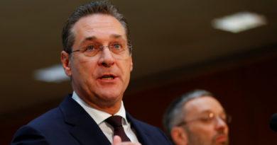 El vicecanciller de Austria anuncia su dimisión