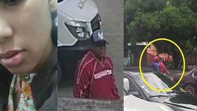 ATENCIÓN :Así fue cómo asaltaron y golpearon mujer en gasolinera frente a niña de dos años