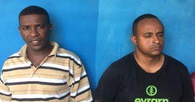 ATENCIÓN :PN apresa a cuatro hombres acusados de sustraer varios animales