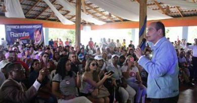 """ATENCIÓN: Trujillo dice en Salcedo que hace falta unidad para """"rescatar"""" la patria"""