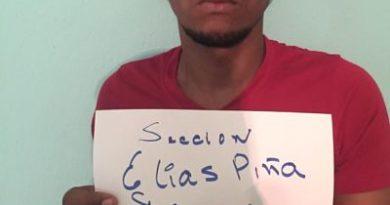 ATRAPADO :Policía apresa uno con 11 paquetes de marihuana; iba a Elías Piña