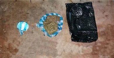 Antinarcóticos realiza allanamiento en Mirabel y ocupa varias porciones de drogas