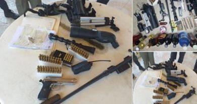 Autoridades ocupan municiones para armas de fuego y otras evidencias en allanamiento en dos residencias