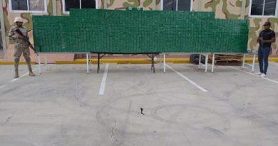 CESFRONT incauta más de 450 mil unidades de cigarrillos en Jimaní