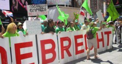 Coalición Democrática protesta contra el PLD y Danilo Medina