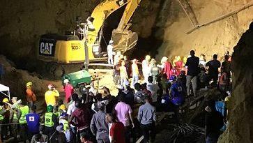 Derrumbe en Santiago, ya suman 4 los muertos, hay varios heridos y desaparecidos
