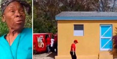 """EN BUENA HORA : Nueva casa para la señora que hizo viral la frase """"Pacon Fish"""""""