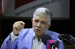 Eduardo Estrella; pretensiones de modificar la constitución para la reelección nunca deja de existir
