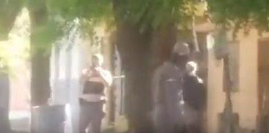En Navarrete, tres alumnos resultan heridos de perdigones en protesta por escuela