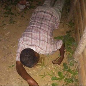 Encuentran hombre muerto en interior de una casucha en construcción.