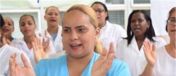 Enfermeras de hospital San Vicente paralizan labores