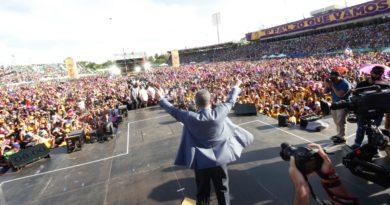 Discurso íntegro de Leonel Fernández en acto en el Estadio Olímpico