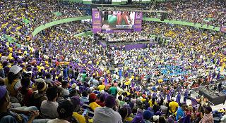 OJO: Danilistas apoyan que continúe el Gobierno del Presidente