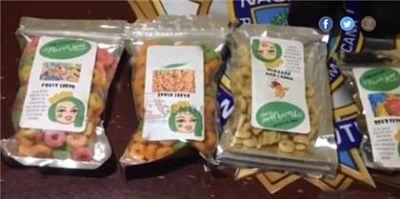 Ocupan drogas dentro de varias fundas de cereal