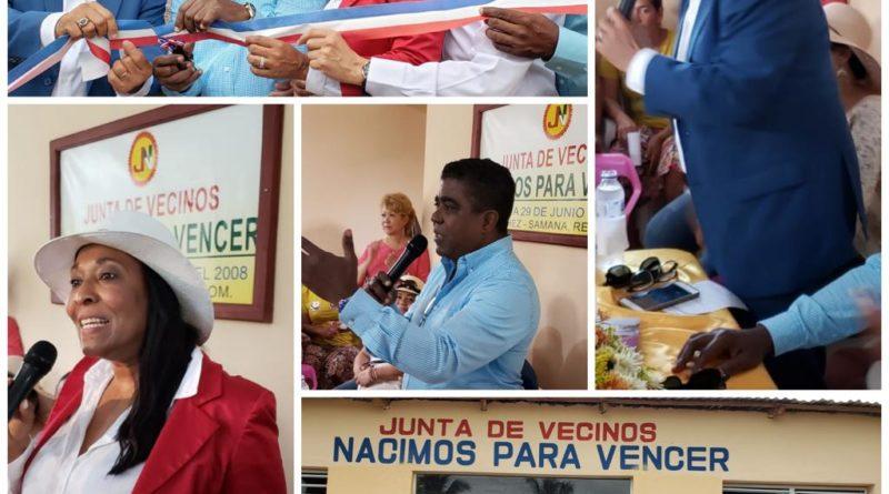 Proyecto Renacer agota exitosa gira en RD entregando local donado a Junta de Vecinos en Sánchez