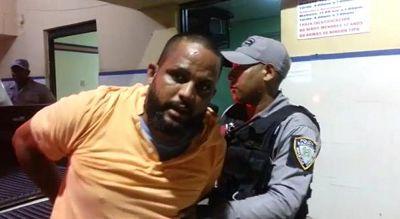 PN apresa hombre acusado de supuestamente intentar asaltar camión de valores