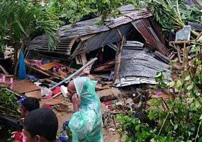 TRAGEDIA: Madre e hija mueren tras caerles pared en Manoguayabo