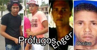 Tres jóvenes perseguidos por asesinato a puñaladas de un hombre en Poza de Guaraguao