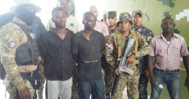 Capturados en Jimaní dos haitianos acusados de varios asesinatos en su país