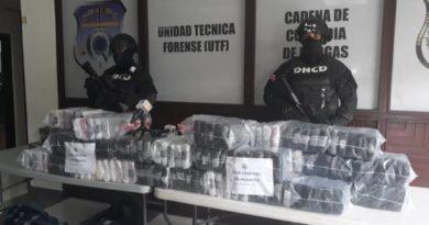 Decomisan en el Puerto de Caucedo 226 paquetes cocaína con destino a Holanda