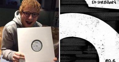Ed Sheeran sorprende al anunciar un nuevo disco