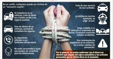 ALERTA: Los 'secuestros exprés' siguen cobrando víctimas en el DN
