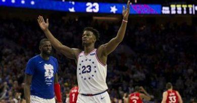 Los Sixers pasan por encima de Raptors y fuerzan al juego siete