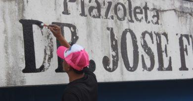 POR FIN: Perremeístas de Santo Domingo Norte remozan plaza José Francisco Peña Gómez