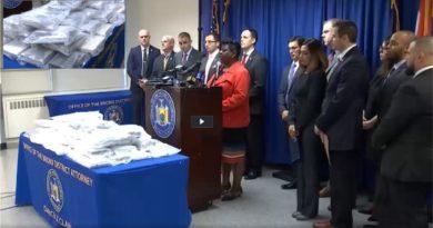 La DEA arresta dominicanos en El Bronx con 80 kilos de cocaína valorada en US $3 millones