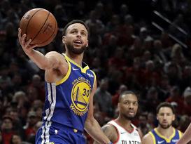 Los Warriors, con prórroga, completan la barrida a Blazers y van a final de NBA