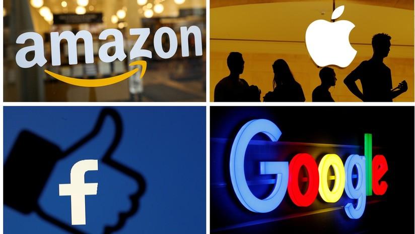 EE.UU. inicia una completa investigación antimonopolio de gigantes tecnológicos como Facebook, Google y Amazon