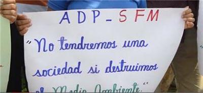ADP en SFM llama a cuidar el medio ambiente