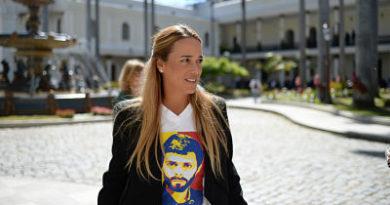 ATENCIÓN : Lilian Tintori se reúne con el canciller de España para pedir más presión internacional contra Maduro