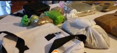 DNCD ocupa casi 30 libras de marihuana durante allanamiento en SFM Durante un allanamiento