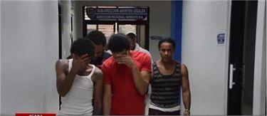 Desmantelan banda acusada de cometer asaltos en SFM