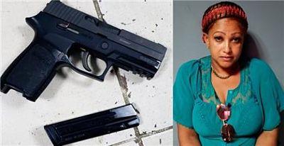 Detienen mujer en Castillo y le ocupan arma de fuego robada