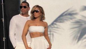 """EFECTO ALEX: Jennifer Lopez dice que dos de sus matrimonios pasados """"no cuentan realmente"""