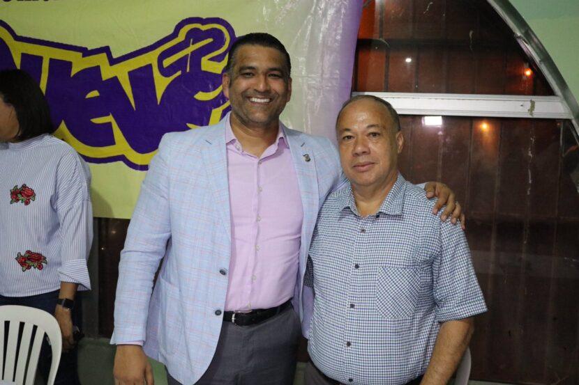 """Luis Alberto Tejeda muestra músculos y recibe fuerte apoyo por parte del movimiento Unión Electoral Vencedora """"MUEVETE"""