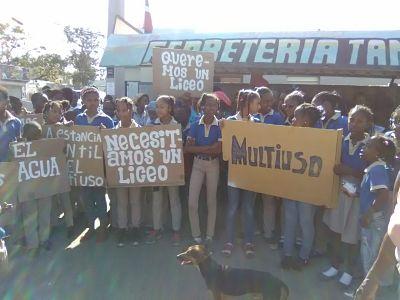 Manoguayabo exige obras para su mejoría